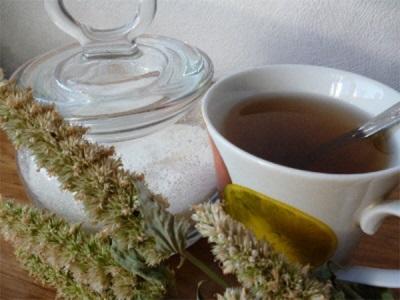 Tee mit Lofantmarmelade