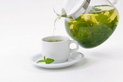 Mėtų žalia arbata