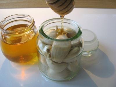 Τσαγιού σκόρδο με μέλι