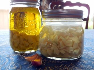 Βάμμα για το σκόρδο και το αλκοόλ