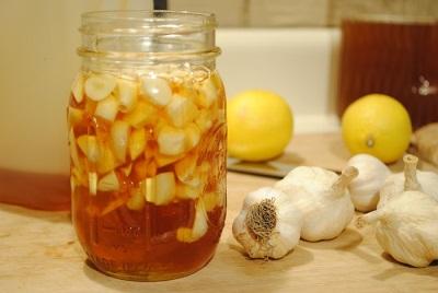 Βάμματα σε σκόρδο με λεμόνι