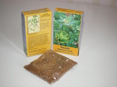 Bockshornklee in pharmazeutischen Verpackungen