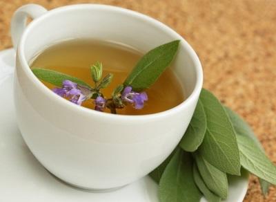 Лечебен чай с градински чай