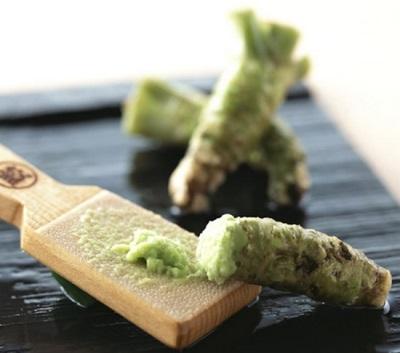 Wasabi contém muitas vitaminas e minerais.