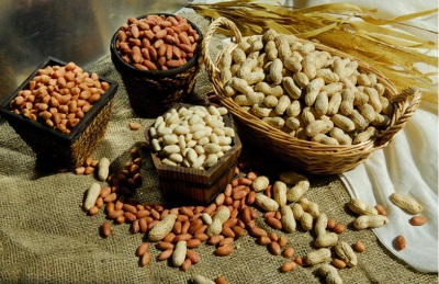 Os amendoins são muito úteis, por isso são usados na medicina.