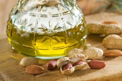 Consistência líquida de manteiga de amendoim