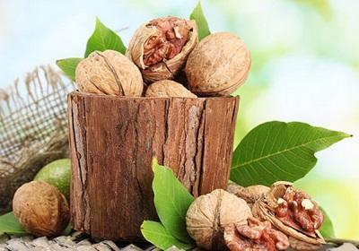 Recetas medicinales con nueces.