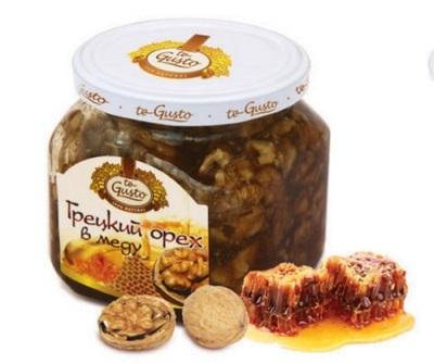 Uma mistura de nozes com mel é usada para muitas doenças cardiovasculares, doenças do trato gastrointestinal e outras