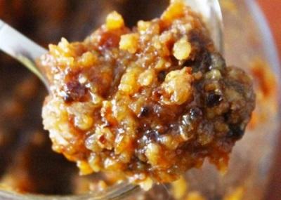 Uma mistura de nozes com mel e frutas secas é muito útil para o corpo e é uma boa prevenção de algumas doenças.