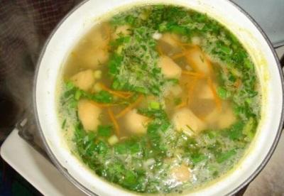 Zupa grzybowa tęczy