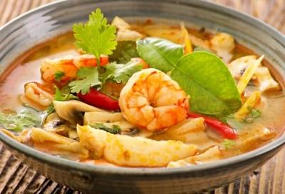 מרק תאילנדי עם קלגן - טום ים קונג