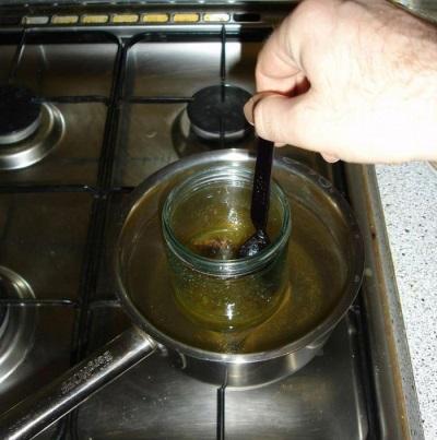 Goma de cedro na culinária