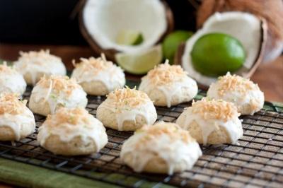 Kokosriekstu bumbieru cepumi