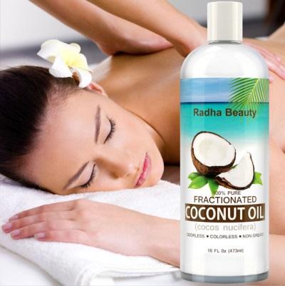 Olej kokosowy do skóry
