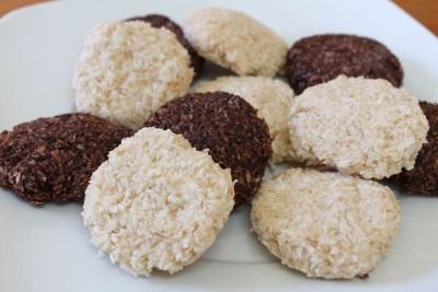 Kókuszos cookie-k