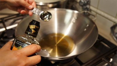 Óleo de gergelim na culinária