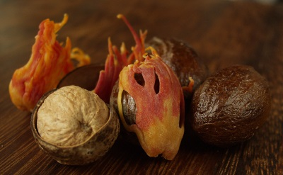 Плодове от дърво на индийско орехче
