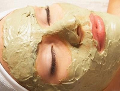 Μάσκα ακμής με βάμμα ευκαλύπτου