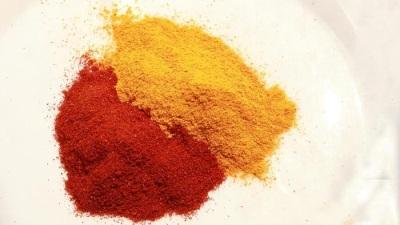 Paprika yang manis, lembut dan pedas