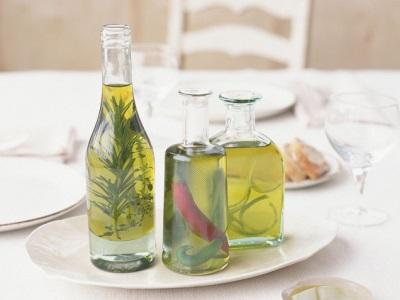 Aceite de oliva con infusión de romero