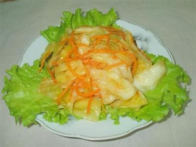 Λάχανο με σαφράν