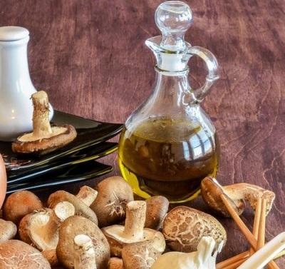 Extracto de aceite de champiñones shiitake