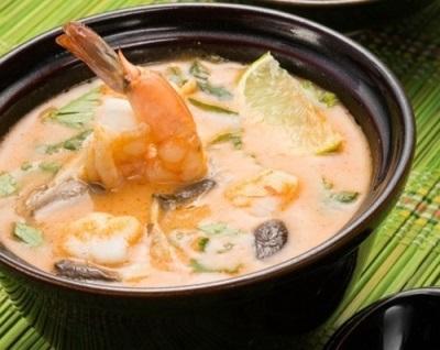 Sopa De Champiñones Shiitake