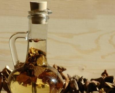 Aceite con yesca livenichny