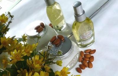 Kosmetische Verwendung von Mandeln