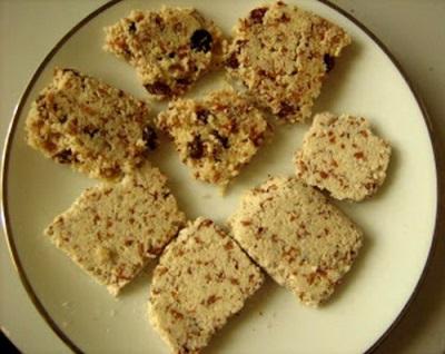 Mandľový olej cookies