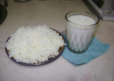 Verabreichungsregeln für Milchpilz