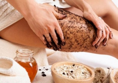 Kūno odos paruošimas cinamono įvyniojimui