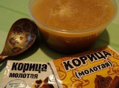 Medaus cinamono pakavimo receptas