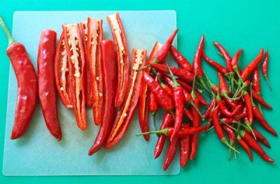 A chili paprika kémiai összetétele