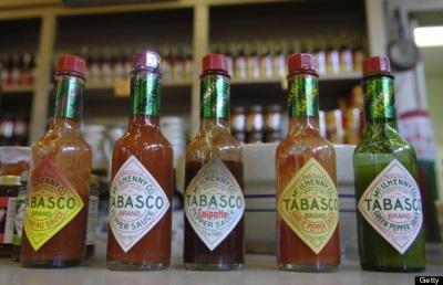 Tabasco ist eine sehr beliebte Saucenmarke.