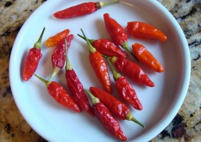 Tabasco Peppers Dry