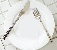 Kalorien im Gesicht kennen